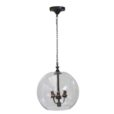Potenza Glass Ball Chandelier