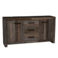 Lex 3 Drawer 2 Door Buffet Storm