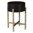 Paxton End Table in Onyx