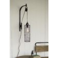 Sintex Wall Lamp with Pulley
