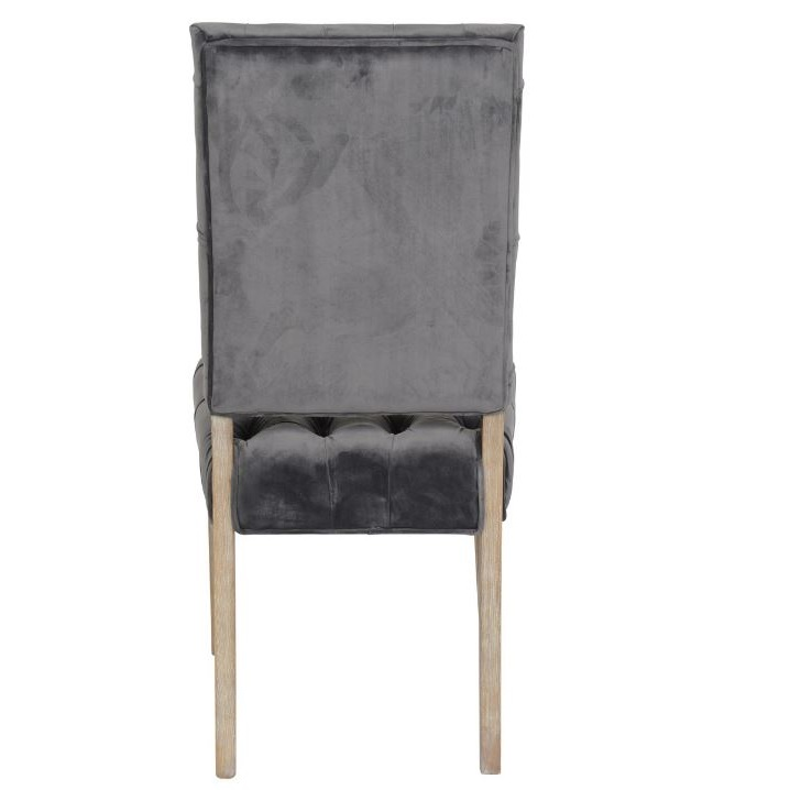 June Side Chair In Steel Cokas Diko Home Furnishings