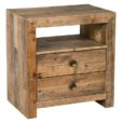 Lex 2 Drawer Nightstand in Natural