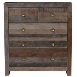 Lex 5 Drawer Dresser in Storm