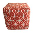 CDH Burnt Orange Pouf