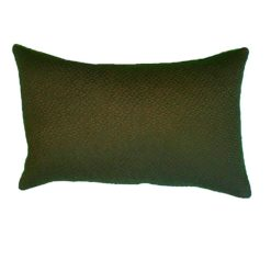CDH Textured Green Lumbar Pillow