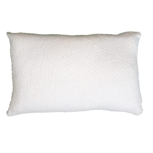 CDH Textured Ivory Lumbar Pillow