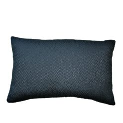 CDH Textured Teal Lumbar Pillow
