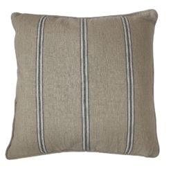 CDH Black Striped Pillow