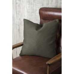Textured Green Pillow