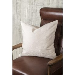 Textured Ivory Pillow