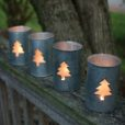 Set of 4 Tree Luminaries