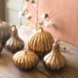 Set of 3 Mercury Pumpkins