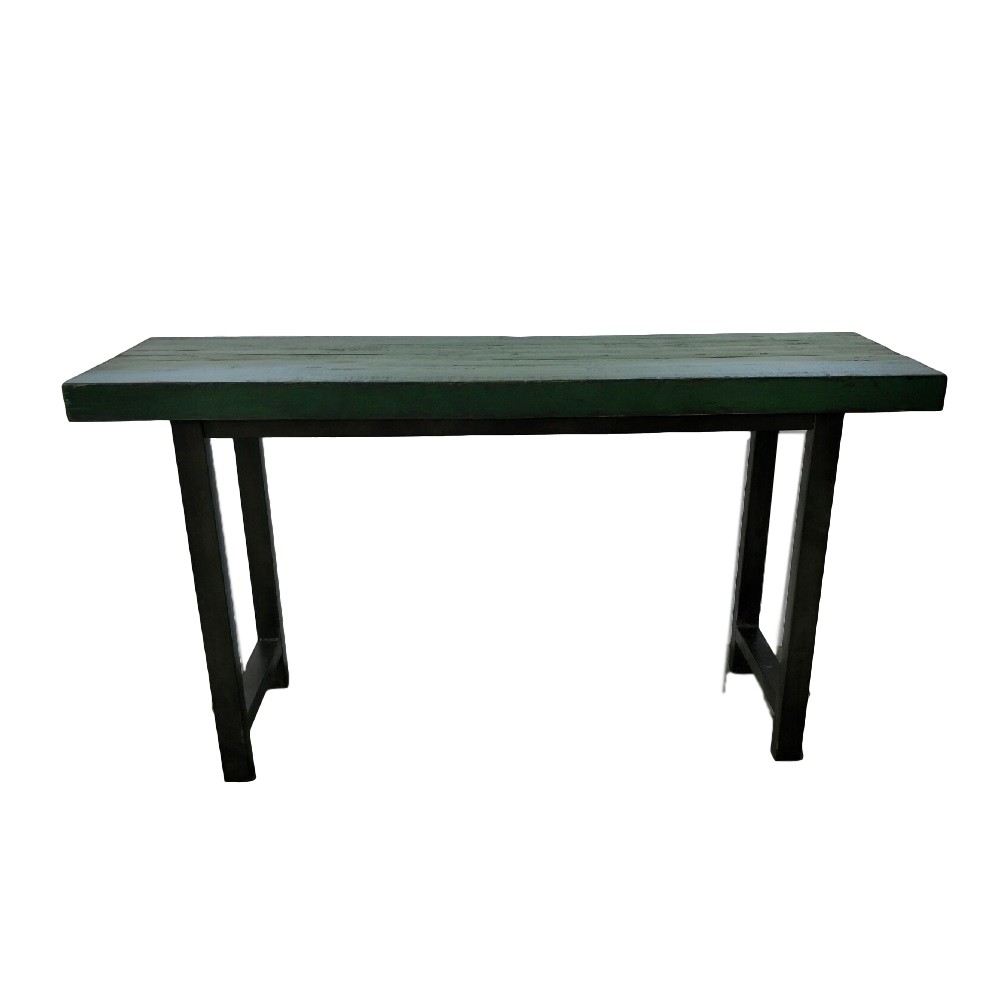 CDH Painted Console Table U2013 Green
