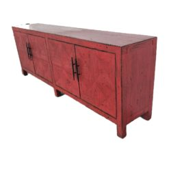 CDH Painted Sideboard in Red