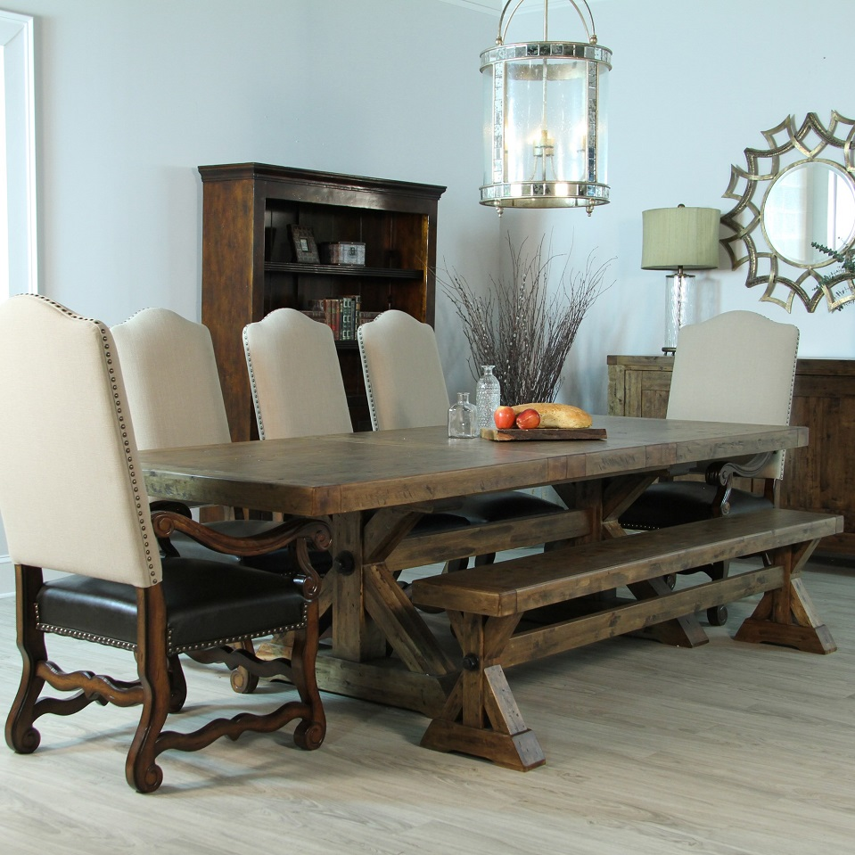 European Extension Dining Table As Diko Home Furnishings Furniture Santa Rosa Ca