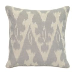 Fray Gray Pillow