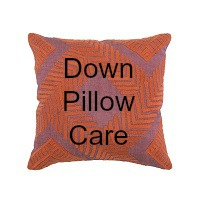 Down Pillow Care