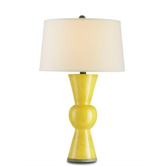 Upbeat Canary Table Lamp