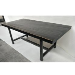 CDH Dining Table in Antique Black