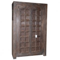 Vintage Carved Door Almirah