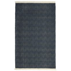 Autom Rug in Navy