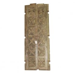 Vintage Carved Wood Door
