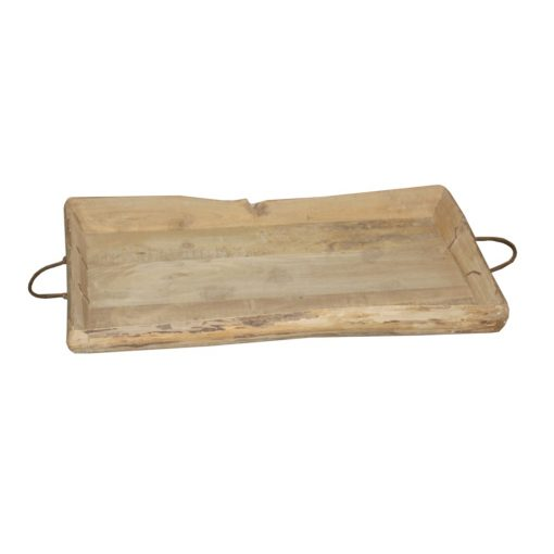 Vintage Carved Wood Tray #551 xxx_0