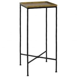 Berles Brass Drinks Table
