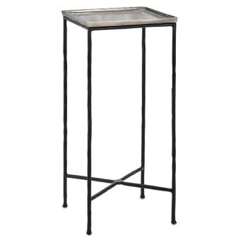 Berles Silver Drinks Table
