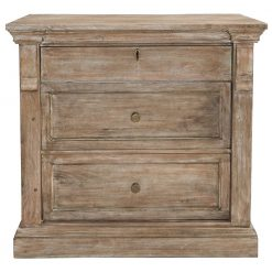 Aelide 3 Drawer Nightstand