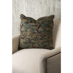 Norwalk camouflage pillow