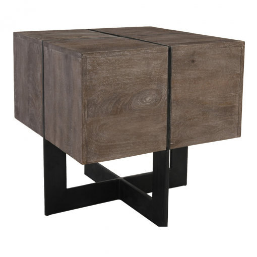 Osmond End Table in Gray xxx_0