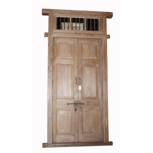 Spring – Vintage Wood Door with Frame #163 xxx_0