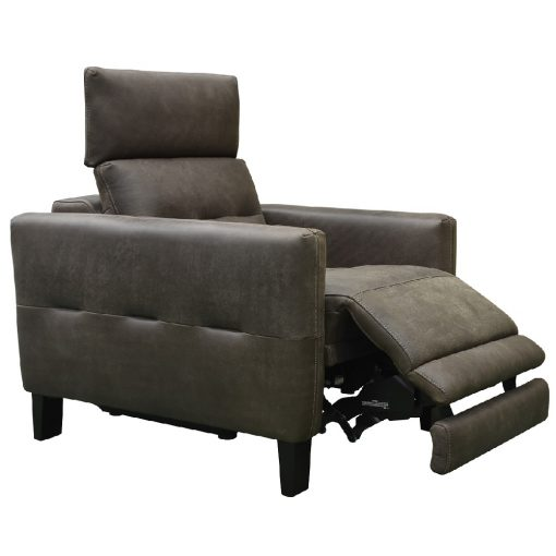 CDH Custom Leather Recliner in Dark Cayan xxx_0