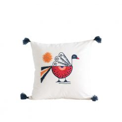 Pearl the Peacock Pillow
