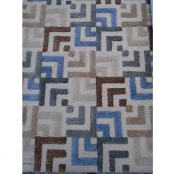 Squared Off Rug 5 x 8