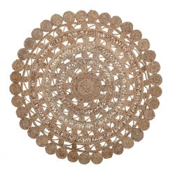 Illusion Lace Round Rug