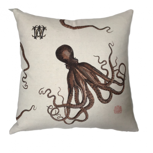 Whim and Caprice Octopus PIllow xxx_0