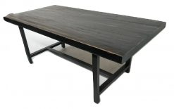 """CDH Dining Table in Black 78"""""""