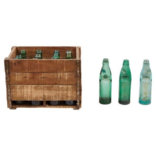 Recycled Banta Bottles in Crate xxx_0