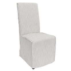 Arina Upholstered Striped Dining Chair