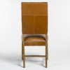 Briant Leather Dining Chair in Tobacco 2 - 74684