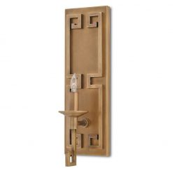 Greek Key Wall Sconce