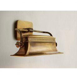 Malvasia Brass Wall Sconce