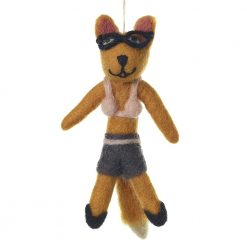 Ellie Fox Ornament