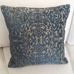CDH Turquoise Jacquard Pillow