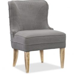 Upholstered Dining Chair in Gray