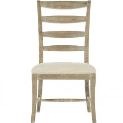 Rustic Patina Ladder Back Chair