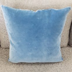 Floral Blue & Green Pillow