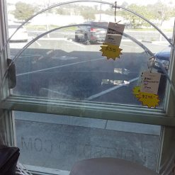 """Clear Glass 54"""" Round Table Top"""